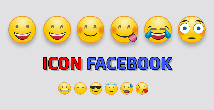 1001 icon facebook mới nhất 2019