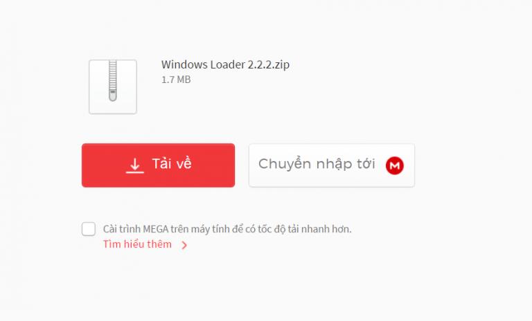 Hướng dẫn cách Crack Win 7 và Active Win 7 bằng phần mềm Windows load