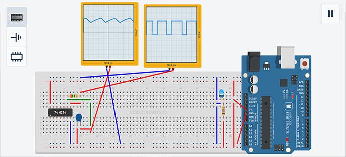 phần mềm mô phỏng mạch điện - 123D Circuits