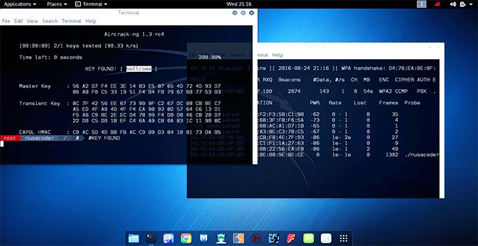 phần mềm hack wifi aircrack