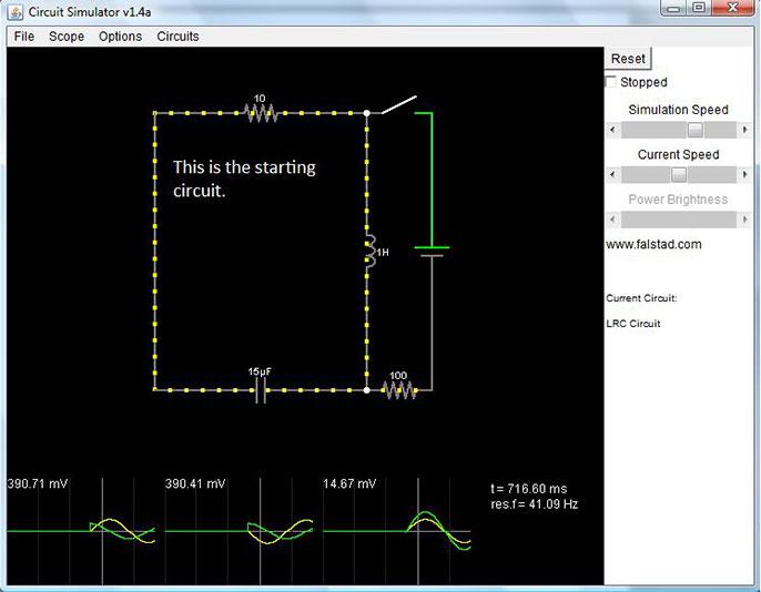 phần mềm mô phỏng mạch điện - Circuit Sims