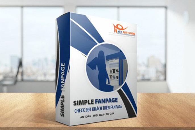 phần mềm lấy số điện thoại trên facebook - simple fanpage