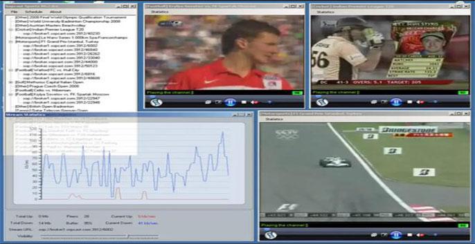 phần mềm xem tivi - SopCast